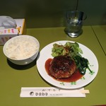 59952891 - ハンバーグ定食850円