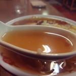 59953310 - 鶏ガラ醤油味のスープ (2016年11月)