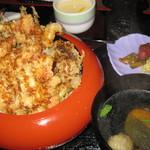 海まかせ旬菜料理 石廊庵 - 金目天丼(金目天カレーは写し忘れました)