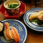 無添くら寿司 - 料理写真:かにフェア h28.12.12撮影