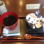一乗寺中谷 - 絹ごし緑茶ティラミス & 珈琲セット