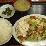 5996793 - ホイコーロ定食