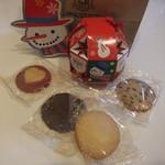 ステラおばさんのクッキー - クリスマスバージョンのクッキー