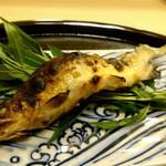 59968437 - 赤石川金鮎。肉の味に特化したような鮎は肉がうまい!
