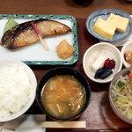 京粕漬 魚久  銀座店 - 本さわら定食_840円