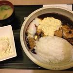 ふうり - カレー全部のせ大盛り