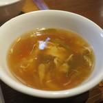 WANG'S GARDEN - かき玉とねぎのスープアップ