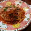 pizzeria felice - 料理写真:「せいこガ二のトマトソースパスタ 」