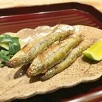 日本料理 翠 - 本もろこの塩焼き