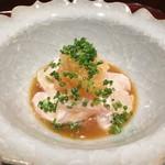 日本料理 翠 - かわはぎの肝和え