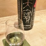 日本料理 翠 - 天寶一 純米大吟醸中汲み