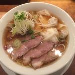 すずらん - 叉焼雲呑麺