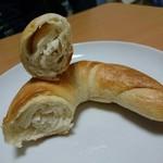フォンデュ - つのパン(120円) 断面