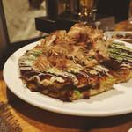 お好み焼き&バー ソース - 豚玉400円