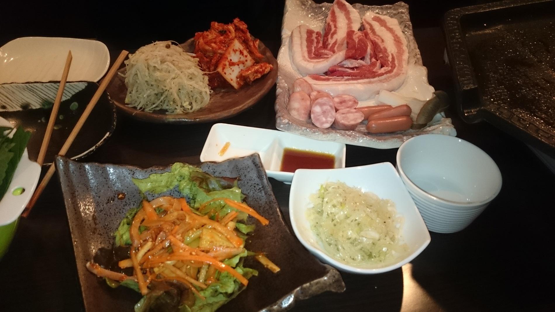 韓国料理 いっぽ