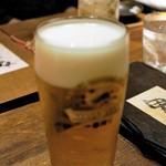 まるみ商店 - 生ビール