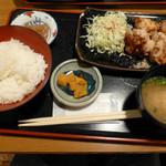 気分上々 - 若鶏香味揚げ定食(第四回投稿)