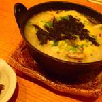 浩司家 - 桜島鶏ときのこの雑炊