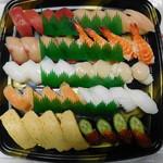スシロー - スシロー10種盛り四人前。¥2160-