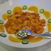 ホテルクラウンパレス北九州 - 料理写真:大えびのチリソース