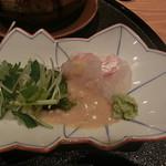 喜の間 - 鯛茶漬け(具の鯛)