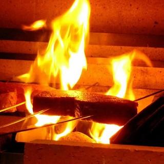 最高級の牛肉をストレートに肉の旨さを引き出す「窯焼き」