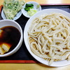 手打ちうどん本橋 - 料理写真:肉汁うどん、春菊天