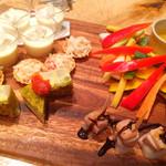 GOODMORNINGCAFE - 前菜のプレート