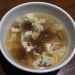 59999188 - ナメコ玉子スープ