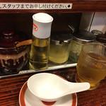 広州市場 - ワンタン用の珍しいレンゲ&卓上
