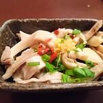 もつ鍋専門店 元祖 もつ鍋 楽天地 - 16/12/09 酢もつ