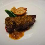 ホテルニューアワジプラザ淡路島 - 淡路牛のステーキ