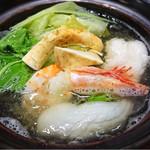 ホテルニューアワジプラザ淡路島 - 松茸入り秋のスープ仕立て鍋