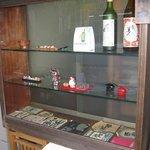 魚竹 - ガラスケース