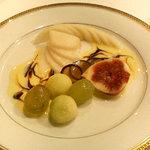 レストラン 澤田 - デザート フルーツの盛り合わせ