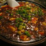 知音食堂 - 料理写真:麻婆豆腐(やや辛)