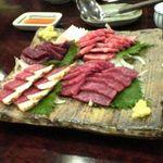 馬肉料理 吉兆 - 馬肉の刺身