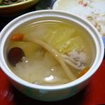 健康の里 杖立温泉 葉隠館 - 薬膳スープ