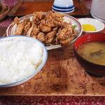 食事処 和 - 若鶏の唐揚げ定食