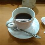 すし半 - プレミアムランチのコーヒー