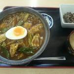 尚武庵 - 料理写真:和風カレー丼(550円)
