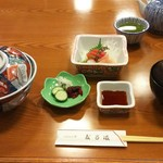 60004810 - 天丼とおさしみのAセット  2.160円♪