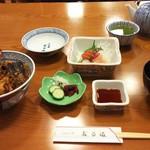 60004812 - 天丼とおさしみのAセット  2.160円♪