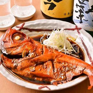新鮮プリプリ!銚子産の地金目鯛は最高級!