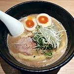 らーめん 伊藝 - 【豚骨魚介らーめん 味玉入り】¥850