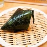 にぎりめし - 醤油握り(さばトロ)