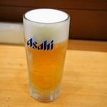 にぎりめし - 生ビール