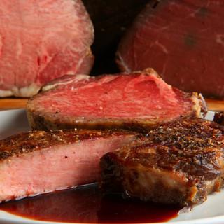 超低温熟成厚切り牛タンステーキ