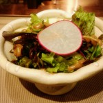 新上屋 - サラダ