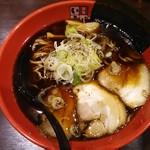 富山ブラック 麺家いろは - 富山ブラックらーめん850円